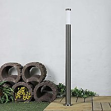 Lampadaire en acier inoxydable de 1,1m de haut E27