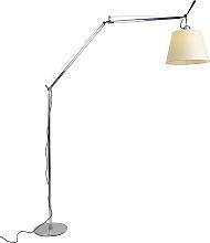 Lampadaire en aluminium avec abat-jour - Artemide