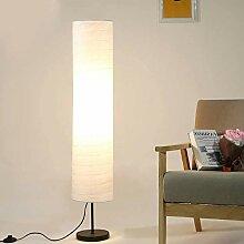 Lampadaire en papier de riz, lampadaire de 45,6