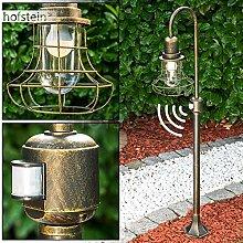 Lampadaire extérieur Borkan avec détecteur de