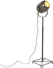 Lampadaire industriel bronze 140 cm - Broca