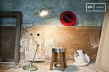 Lampadaire industriel Jieldé Loft Vert Vespa