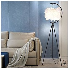 Lampadaire Lampadaire moderne avec LED plume