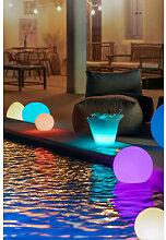 Lampadaire LED extérieur Sphere Ø30 cm Sklum