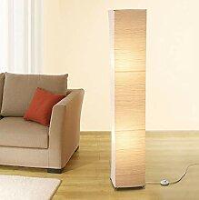 Lampadaire LED Trango au design moderne en papier