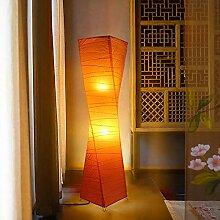 Lampadaire Moderne Avec Abat-jour En Papier De Riz