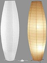 Lampadaire Moderne En Papier De Riz 2 Pièces,