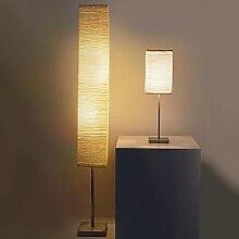 Lampadaire Moderne + Lampe De Table, Lampe Sur