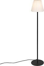 Lampadaire moderne noir extérieur - Virginia