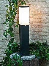 Lampadaire moderne pour l'extérieur en carré