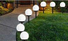 Lampadaire solaire d extérieur à LED : x8
