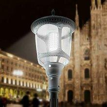 Lampadaire solaire led pour extérieur en style