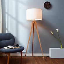 Lampadaire trépied lampe de salon sur pied