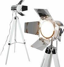 Lampadaire Trépied Type Projecteur de Cinéma