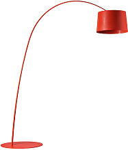 Lampadaire TWIGGY LED de Foscarini, Carmin