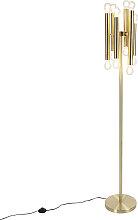 Lampadaire vintage doré 12 lumières - Facil