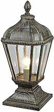 Lampadaires Antiques En Aluminium Moulé Sous