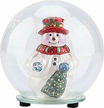Lampe à boule de verre en verre borosilicaté,