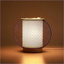 Lampe à cage en métal lampe de bureau vintage