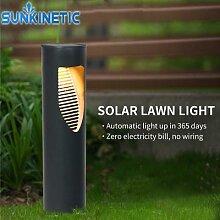 Lampe À Gazon solaire LED Étanche JARDIN