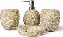 Lampe à Huile Accessoires de salle de bains de N