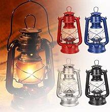 Lampe à huile Portable en fer Style rétro,
