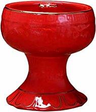 Lampe à huile rétro en céramique pour lampe à