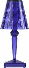 Lampe à poser BATTERY de Kartell, Bleu