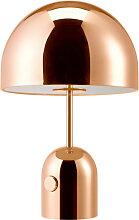 Lampe à poser BELL de Tom Dixon, Cuivre