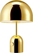 Lampe à poser BELL de Tom Dixon, Or