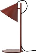 Lampe à poser BENJAMIN de Frandsen, Dusty red