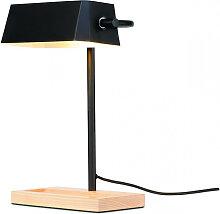 Lampe à poser Cambridge en bois au design
