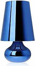 Lampe à poser CINDY de Kartell, Bleu