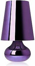 Lampe à poser CINDY de Kartell, Violet