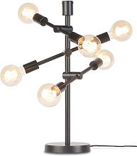 Lampe à poser design Nashville 6 lampes en métal