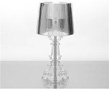Lampe à poser design transparent JANIS-H 52 cm-