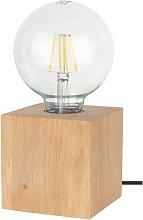 Lampe à Poser Design trongo 10cm Chêne Huilé -