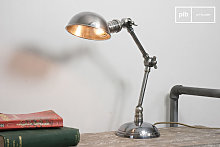 Lampe a poser double articulation