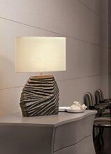 Lampe à poser Dune 1 lampe décoration marron