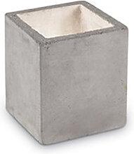 Lampe à poser en béton Cubox au design industriel