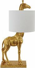 Lampe à poser Girafe Gold