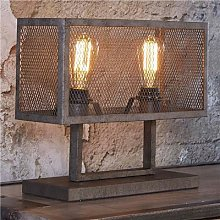 Lampe à poser industrielle en métal CASEY