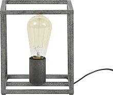 Lampe à poser industrielle en métal finition