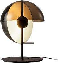 Lampe à poser Theia LED 7,6W avec un abat-jour en