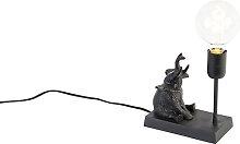 Lampe à poser vintage noire - Elefant Sidde