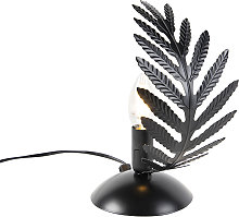 Lampe à poser vintage petite noire - Botanica