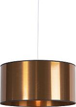 Lampe à suspension Art Déco blanche avec