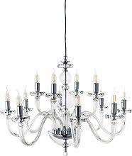Lampe à suspension BACH sans abat-jour en verre
