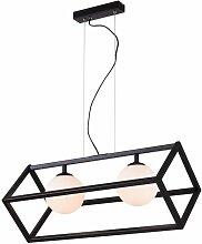 Lampe a Suspension Cube 1 - Rectangulaire - Lustre