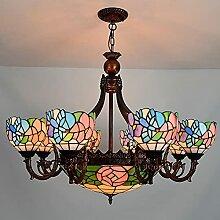 Lampe À Suspension De Style Tiffany, Luminaire